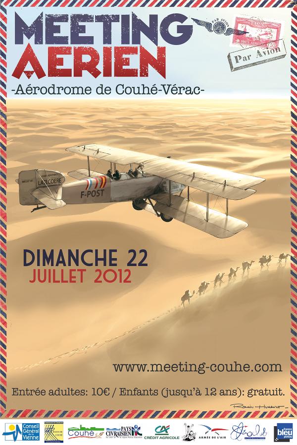 Meeting de Couhé - 22 juillet 2012  Affiche-2012
